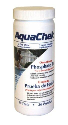 20 Aquachek 562227 One Minute Phosphate Swimming Poolspa 1 Bottle