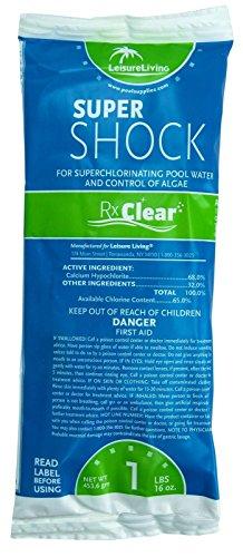 New Swimming Pool 68 Calcium Hypochlorite Super Chlorine Shock 12 X 1 Lb Bags