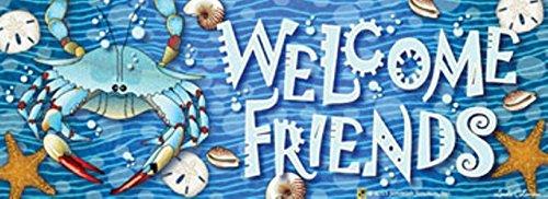 Crab Splash Art-Snaps Magnetic Mailbox Art