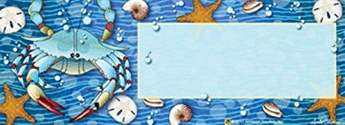 Crab Splash Art-snaps&reg Magnetic Mailbox Art