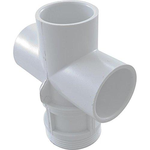 Waterway 602-4300 1 Top Access Pool Diverter Valve Body - White