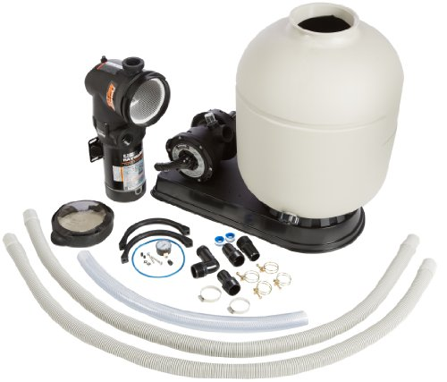 Hayward S210T932S Pro-Series 21-Inch Two Speed Sand Filter System with Valve 1-12 Horse Power Above-Ground Pool Sand Filter System