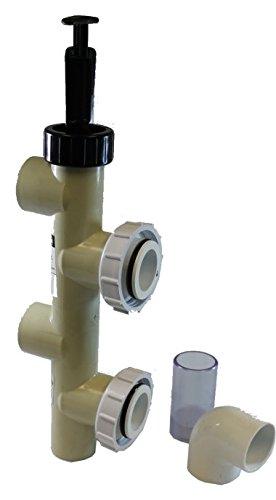 PENTAIR 263064 2 PVC Slide Pump Backwash Valve for Side Mount SandDE Filters