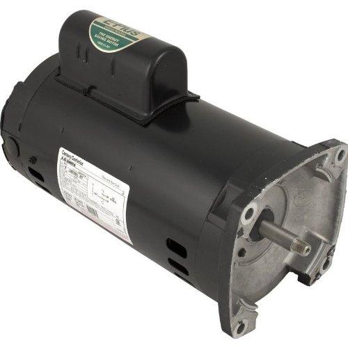 Pentair 355376s Black 1-12 Hp Standard Square Flange Motor Replacement Inground Pool And Spa Pump