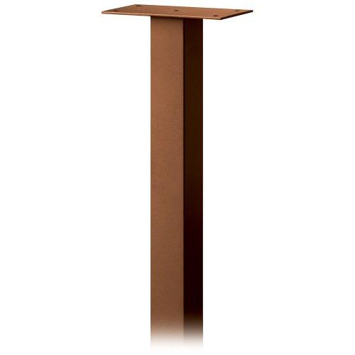 Salsbury Industries 4385D-COP Standard Pedestal In-Ground Mounted for Designer Roadside Mailbox Copper