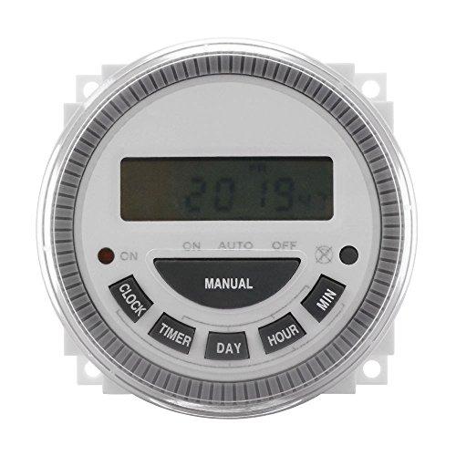 7 Day Programmable Timer Switch- Poolgatesprinklerslights