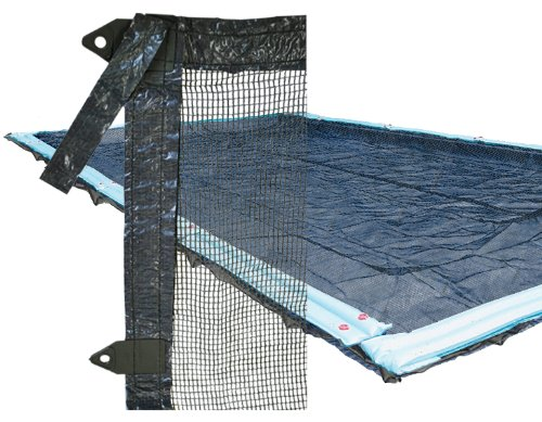 16x36 Rectangle In Ground Pool Tux Leaf Guard