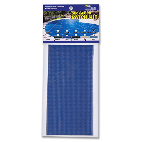 Universal Solid Swimming Pool Safety Cover Patch Kit - Blue