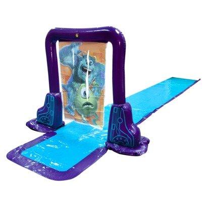 Swimways Disney Monsters Inc Screamin Surprise N Slide Deluxe Waterslide