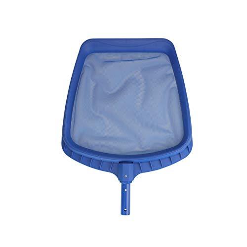 215 Blue Heavy-Duty Plastic Swimming Pool Leaf Skimmer Head