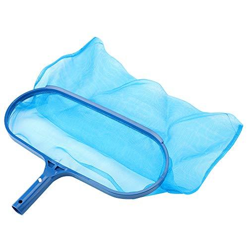Leaf Skimmer Fine Mesh Net Deep Bag Blue Plastic Swimming Pool Pond Tub Cleaning Tool