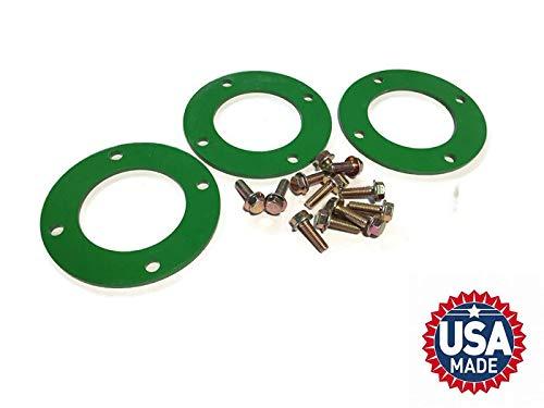 Outdoor Power Deals Deck Spindle Reinforcement Ring with Bolts for John Deere L120 L130 LA135 LA145 LA150 LA170 D170 Set of 3