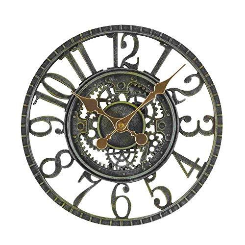 Smart Garden Newby Mechanical Style Rustic Outdoor Garden Clock