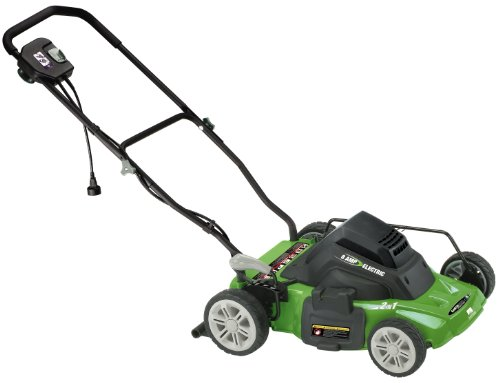 Earthwise 14-inch 8-amp Side Dischargemulching Corded Electric Lawn Mower Model 50214