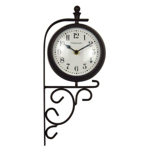 Luster Leaf Evesham 20054 Clock and Thermometer