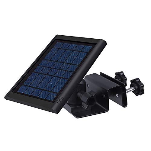 Gutter Mount for Ring Solar Panel - Outdoor Mounting Bracket for Placing Solar Panel Further for Maximum Sunlight Exposure Black
