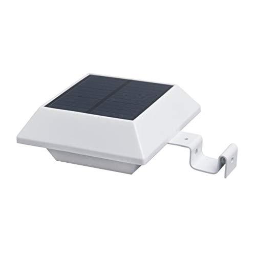 Coldcedar 6 LED Solar Light PIR Motion Sensor Wall Lamp Waterproof Roof Gutter Light