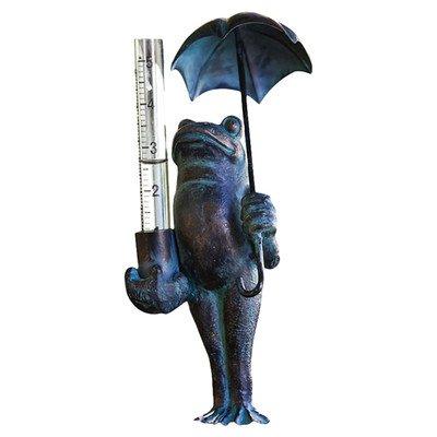 Frog Decorative Rain Gauge