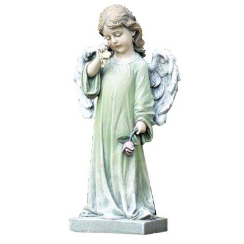 Napco Commemorative Garden Statue Weeping Angel