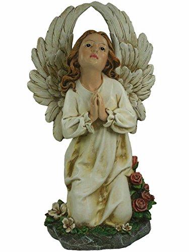 Roman Kneeling Angel Garden Statue 63586