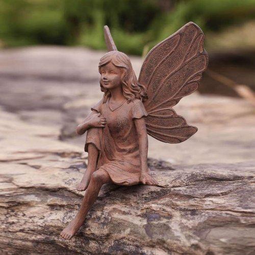 Earth Fairy Miranda Garden Statue