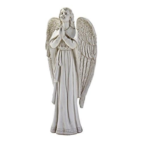 Design Toscano Divine Guidance Praying Angel Statue Size Large