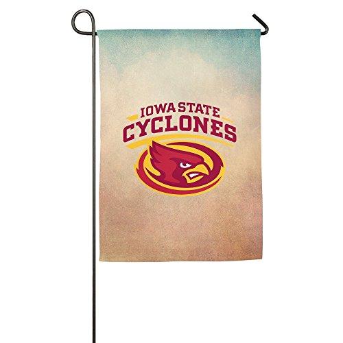 Matthe Iowa State University ISU Iowa State Cyclones Logo Custom Garden Flag