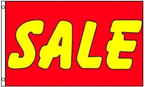 Sale Red and Yellow Flag 5x3 150cm x 90cm HEAVY DUTY NYLON