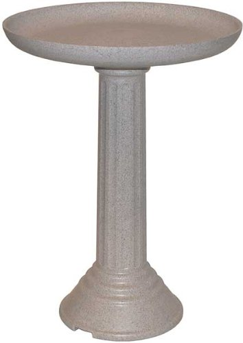 API Kozy Non-heated Bird Bath With Pedestal
