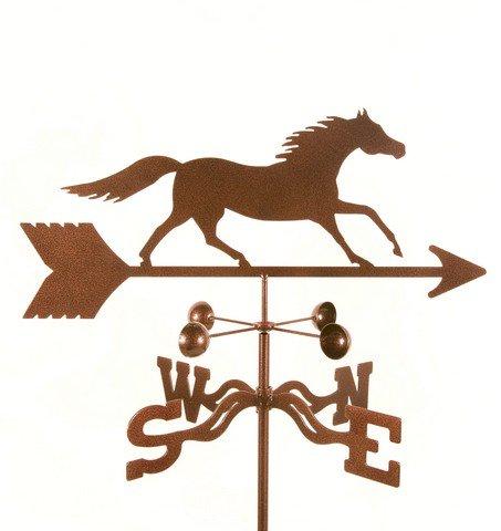 EZ Vane EZ1505-GR Running Horse Weathervane with Garden Mount