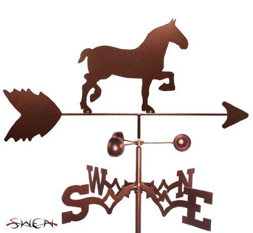 Hand Made Draft Horse Garden Stake Weathervane ~new~