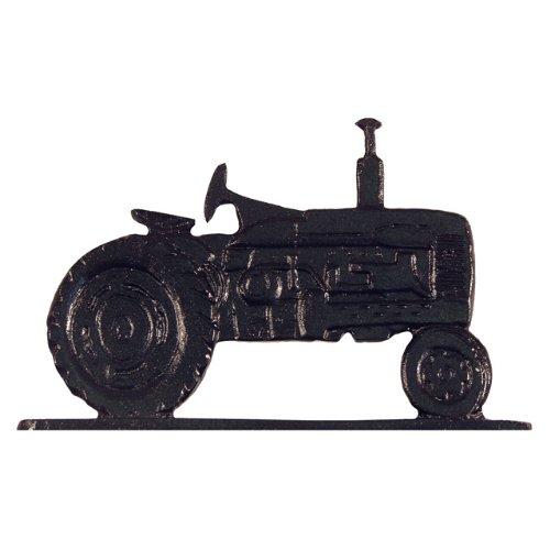 Whitehall Products Tractor Weathervane 30-Inch Garden Black