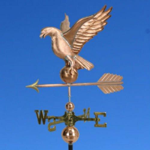 Large Copper Eagle Weathervane Wdirectionals 364