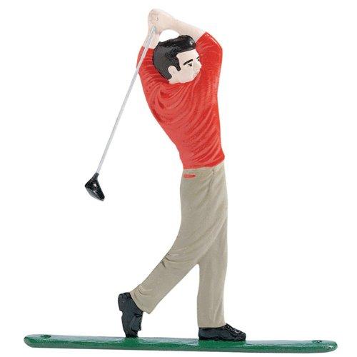 Whitehall Products Golfer Weathervane 30-Inch Garden Color