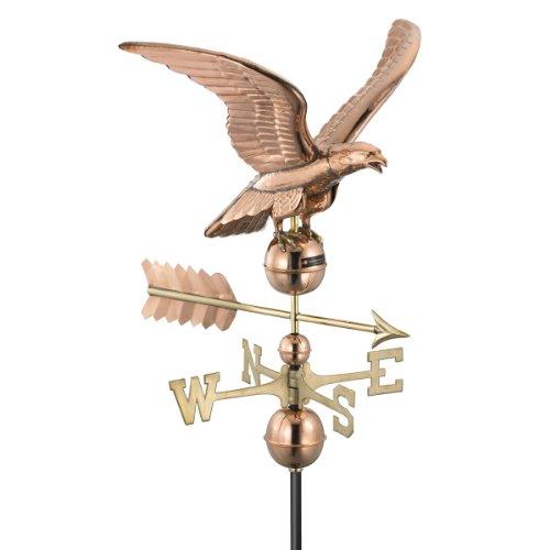 Design Toscano Majestic Eagle Full-Size Copper Weathervane Copper