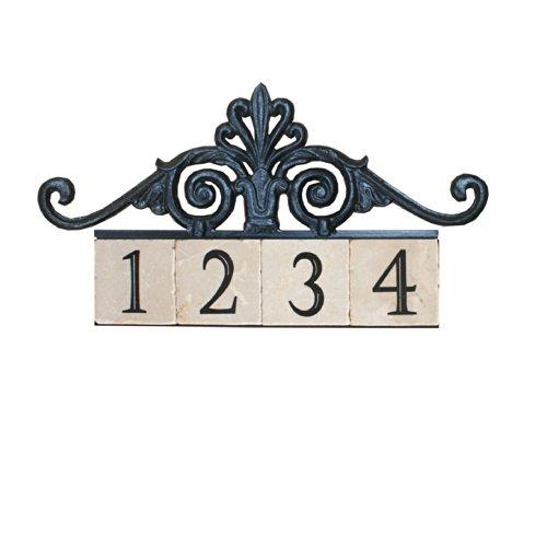 NACH KA-ROYAL GATE-4 House AddressNumber Sign Plaque