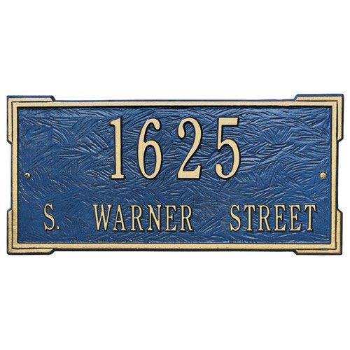 Roanoke Lawn Address Plaque - Estate Two-Line