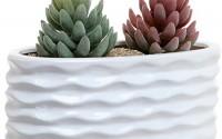 White-Ceramic-Wavy-Design-Art-Deco-Oval-Succulent-Planter-Pot-Windowsill-Herb-Garden-Container-Mygift21.jpg