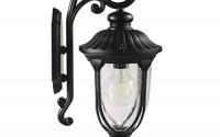 Carl-Artbay-Wall-Lights-Outdoor-E27-Waterproof-Wired-Garden-Lamp-Modern-Wall-Lighting-Aluminum-Fixture-with-Glass-Lampshade-External-Wall-Security-Sconce-for-Hallway-Door-Black-55.jpg
