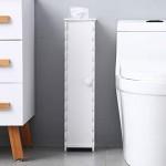 White-Small-Bathroom-Storage-Corner-Floor-Cabinet-with-Doors-and-Shelves-Toilet-Tissue-Storage-Tower-Shelf-Narrow-Bath-Sink-Organizer-Towel-Storage-Shelf-for-Paper-Holder-Molde-1-54.jpg